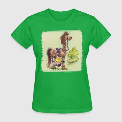 Thelwell Rider Hangover under Pony - Women's T-Shirt