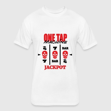 ONE TAP MACHINE CS:GO T-Shirts - Fitted Cotton/Poly T-Shirt by Next Level