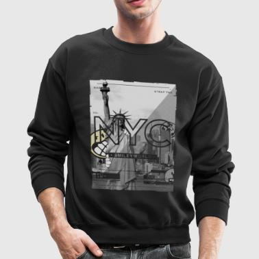 SmileyWorld New York City Statue of Liberty - Crewneck Sweatshirt