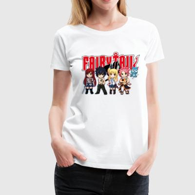 The Great Demon Group of Fairy Tail Anime - Women's Premium T-Shirt
