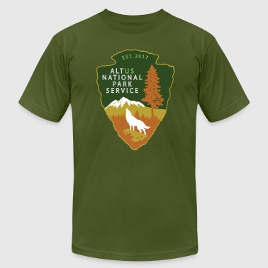 Alt US National Park Service - Men's Fine Jersey T-Shirt