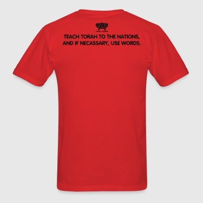 Teach The Torah - Men's T-Shirt