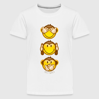 SmileyWorld Three Mystic Apes Horizontal - Kids' Premium T-Shirt