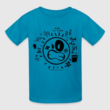 SmileyWorld I Am Here To Stay - Kids' T-Shirt