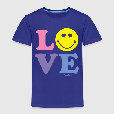 SmileyWorld Love Typography - Toddler Premium T-Shirt