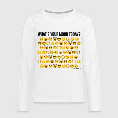 SmileyWorld Your Mood Today Smiley Collection - Kids' Premium Long Sleeve T-Shirt