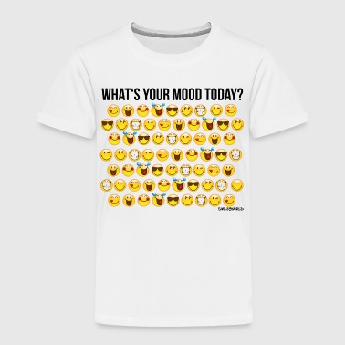 SmileyWorld Your Mood Today Smiley Collection - Toddler Premium T-Shirt