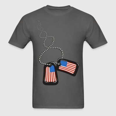 Dog Tags - Men's T-Shirt