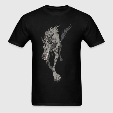 Gnarly Wolf - Men's T-Shirt