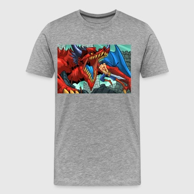 THAMRO vs BORRO CAIN - Men's Premium T-Shirt