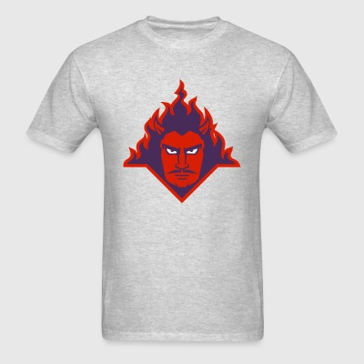 Demon in Flames - Men's T-Shirt