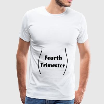 Third trimester and showing - Men's Premium T-Shirt