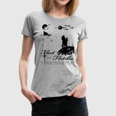 Fleet and Flotilla Shirt (Fitted) - Women's Premium T-Shirt