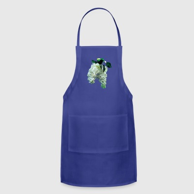 White Lilacs Aprons - Adjustable Apron