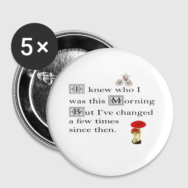 Alice in Wonderland, Mad Hatter - Large Buttons