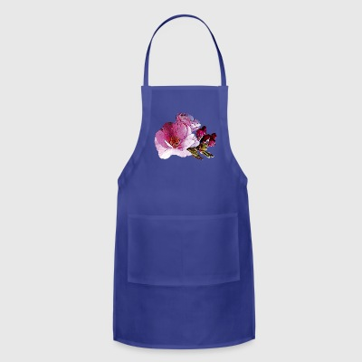 Cherry Blossom and Buds Aprons - Adjustable Apron