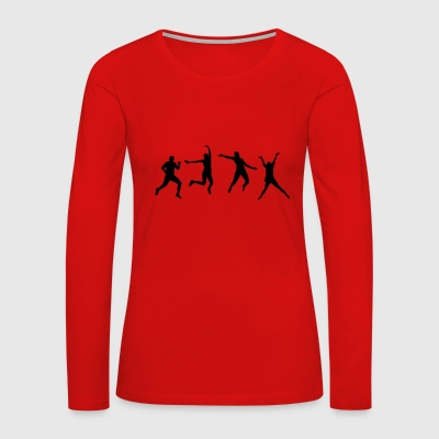 Happy People Long Sleeve Shirts - Women's Premium Long Sleeve T-Shirt