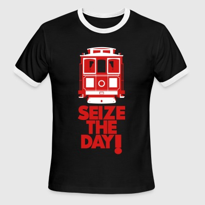 SEIZE THE DAY T-Shirts - Men's Ringer T-Shirt