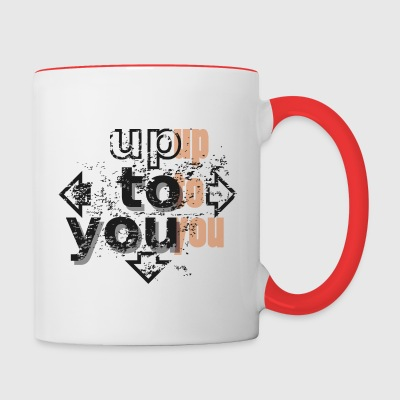 Up to you Mugs & Drinkware - Contrast Coffee Mug