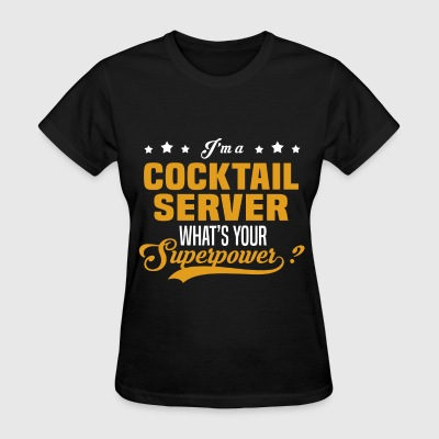 Cocktail Server - Women's T-Shirt