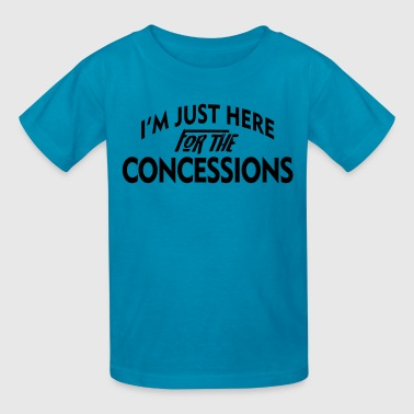 Just here for the concessions - Kids' T-Shirt