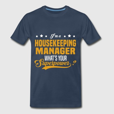 Housekeeping Manager - Men's Premium T-Shirt