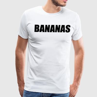 BANANAS T-Shirts - Men's Premium T-Shirt