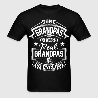 Real Grandpas Go Cycling T-Shirts - Men's T-Shirt