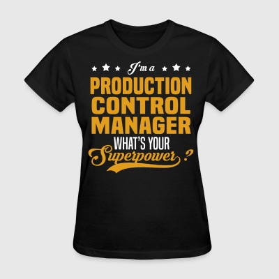 Production Control Manager - Women's T-Shirt