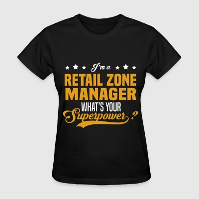 Retail Zone Manager - Women's T-Shirt
