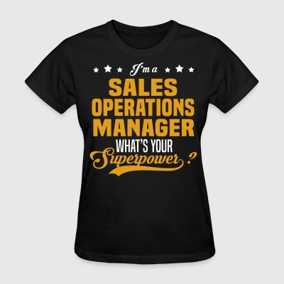 Sales Operations Manager - Women's T-Shirt