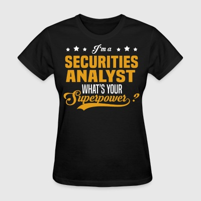Securities Analyst - Women's T-Shirt
