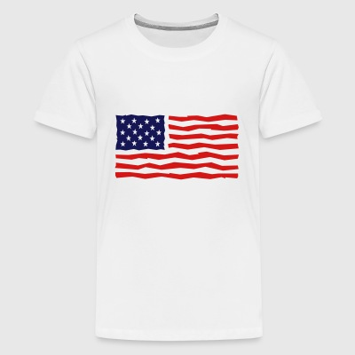 Stars And Stripes / USA / Flag Kids' Shirts - Kids' Premium T-Shirt