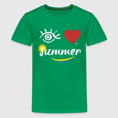 Eye-Love summer - Kids' Premium T-Shirt
