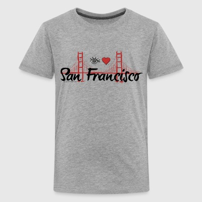Eye-Love San Francisco - Kids' Premium T-Shirt