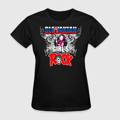 Slovakian Girls Rock - Women's T-Shirt