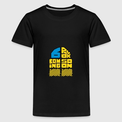 6 Pack kid - Kids' Premium T-Shirt