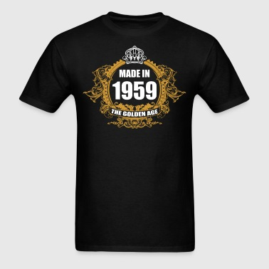 Made in 1959 The Golden Age - Men's T-Shirt