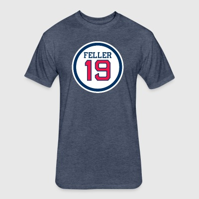 Feller Silver Men's Athletic Fit Tribe Tee - Fitted Cotton/Poly T-Shirt by Next Level