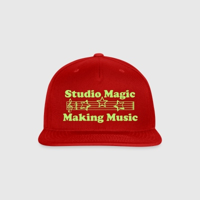 Studio Magic Making Music stars ball cap red - Snap-back Baseball Cap