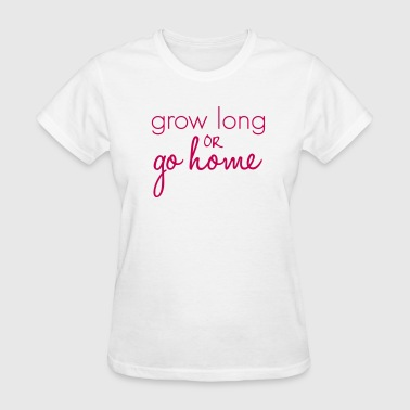 Grow Long Go Home Length Check T-Shirt - Women's T-Shirt