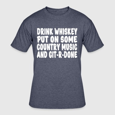 Drink Whiskey  - Men's 50/50 T-Shirt