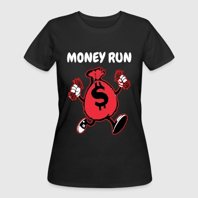 MONEY RUN - Women's 50/50 T-Shirt