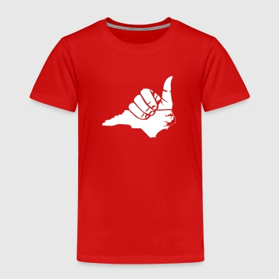 Toddler Shaka NC Premium Tee - Toddler Premium T-Shirt