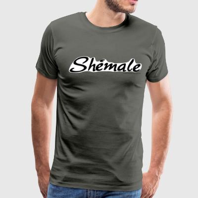 Arrested Development Lindsay Shémale - Men's Premium T-Shirt