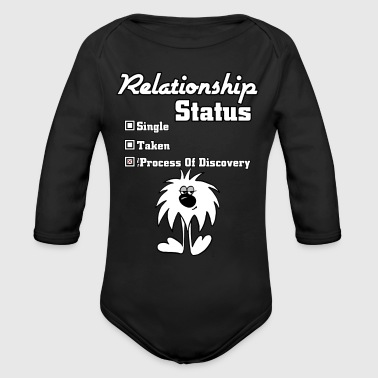 Relationship Status Kids Baby Long Sleeve One Piec - Long Sleeve Baby Bodysuit