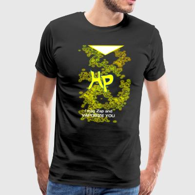 Harry porter blazing flames - Men's Premium T-Shirt