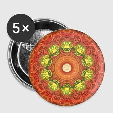 Funny Face Kaleidoscope - Small Buttons