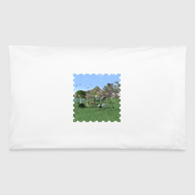 An exotic wild animal scene - Pillowcase
