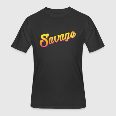 Savage T-Shirt - Men's 50/50 T-Shirt
